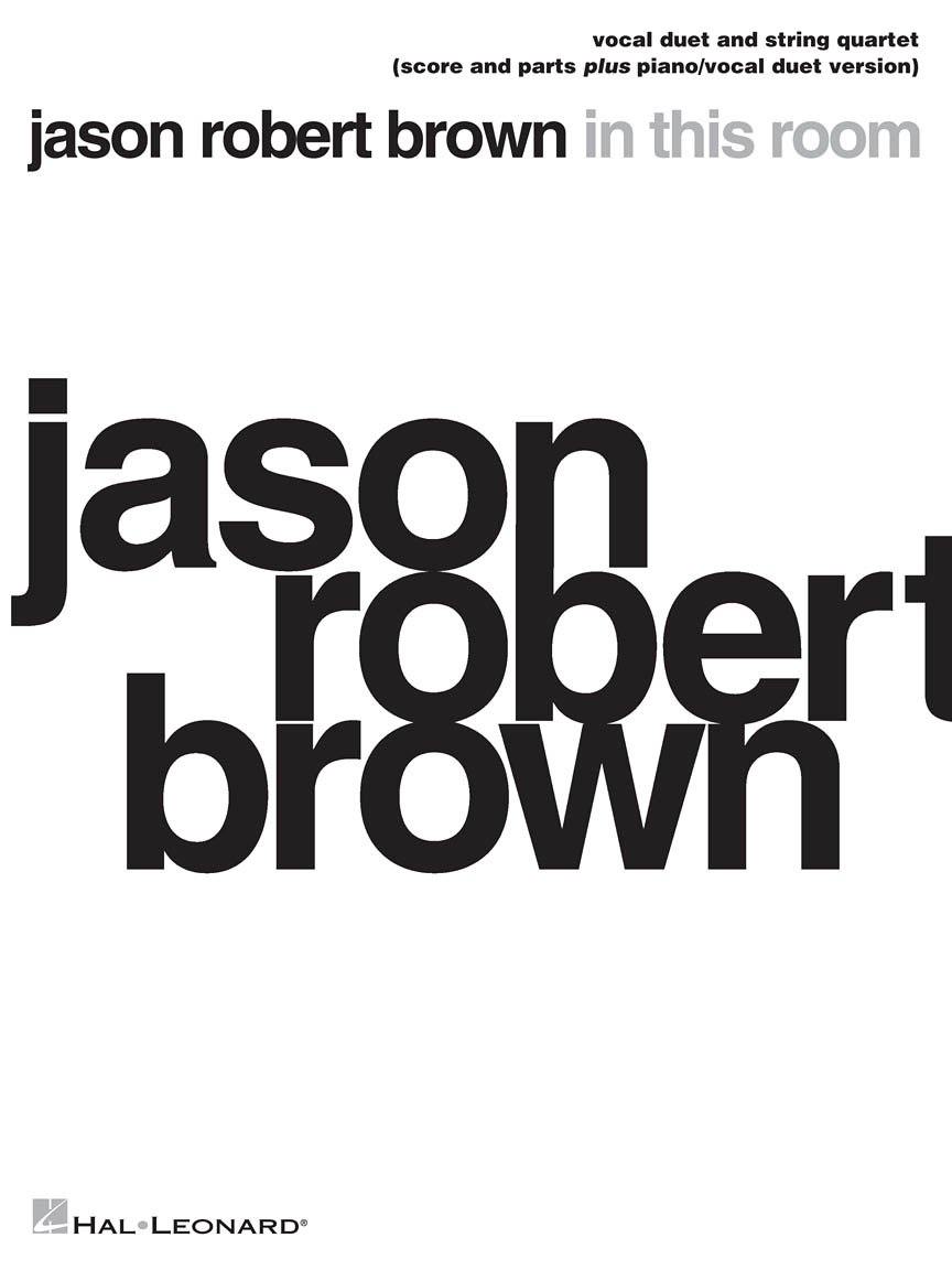 Product Cover for Jason Robert Brown – In This Room