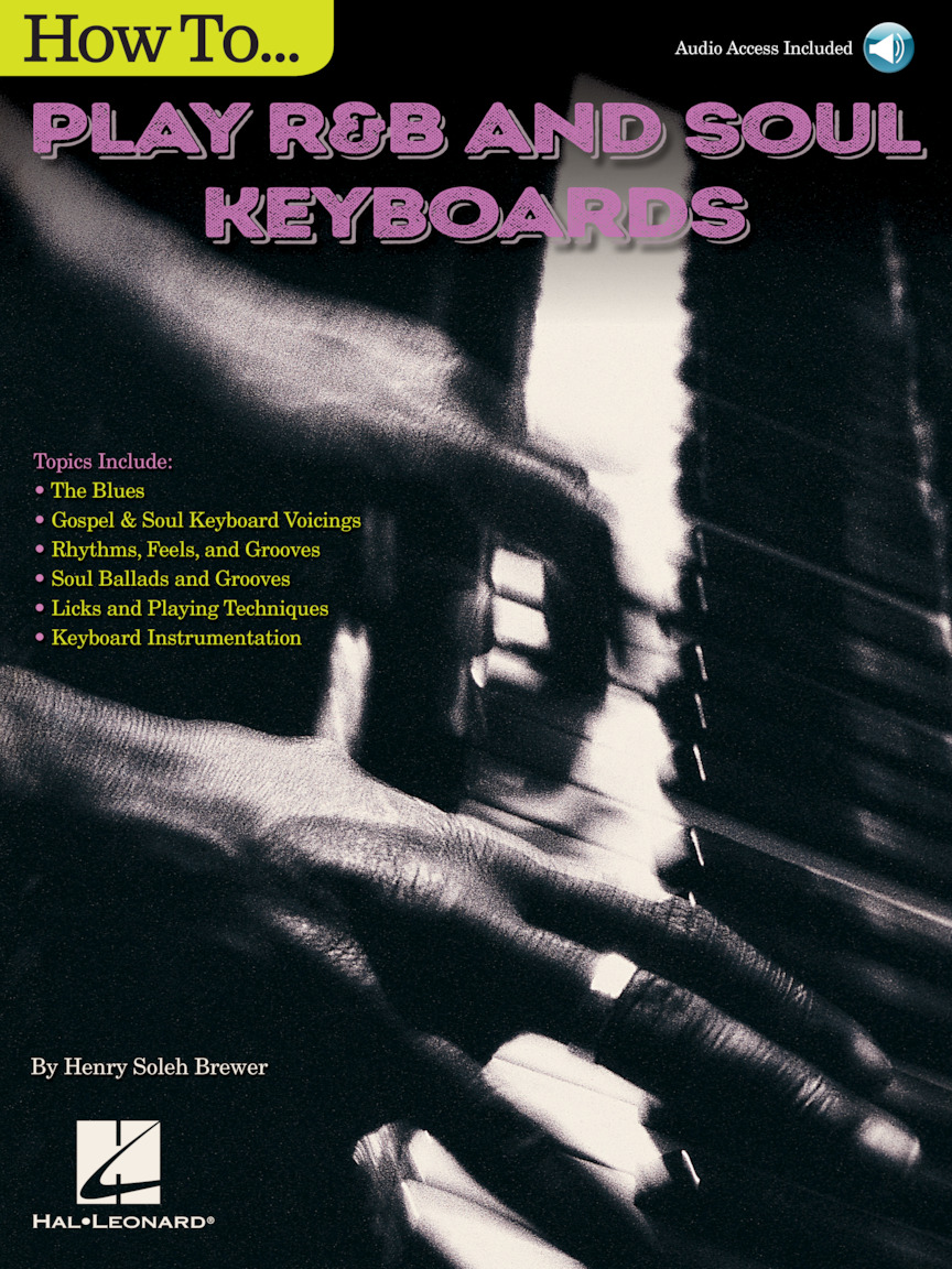 Product Cover for How to Play R&B Soul Keyboards