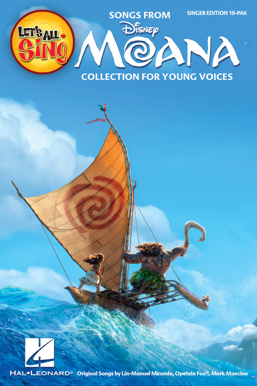 Product Cover for Let's All Sing Songs from MOANA