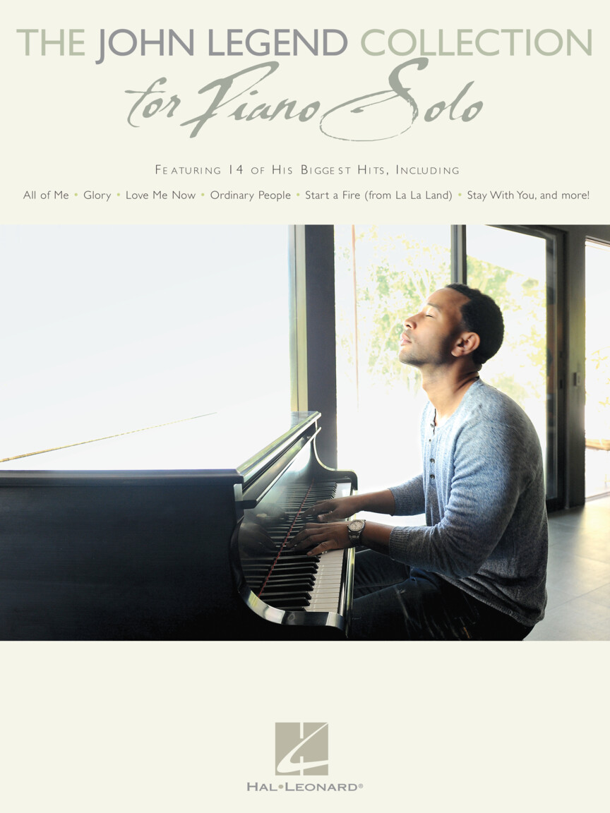 Product Cover for The John Legend Collection for Piano Solo