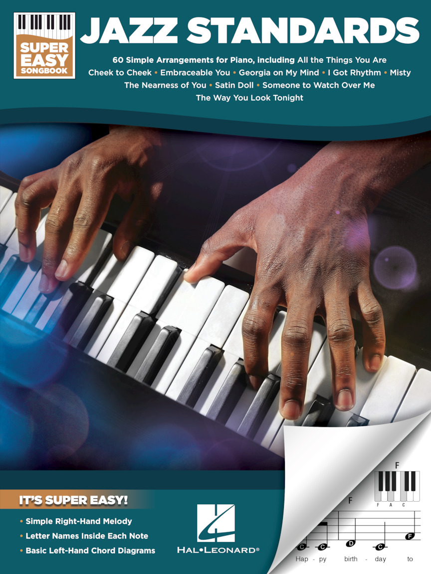 Product Cover for Jazz Standards – Super Easy Songbook