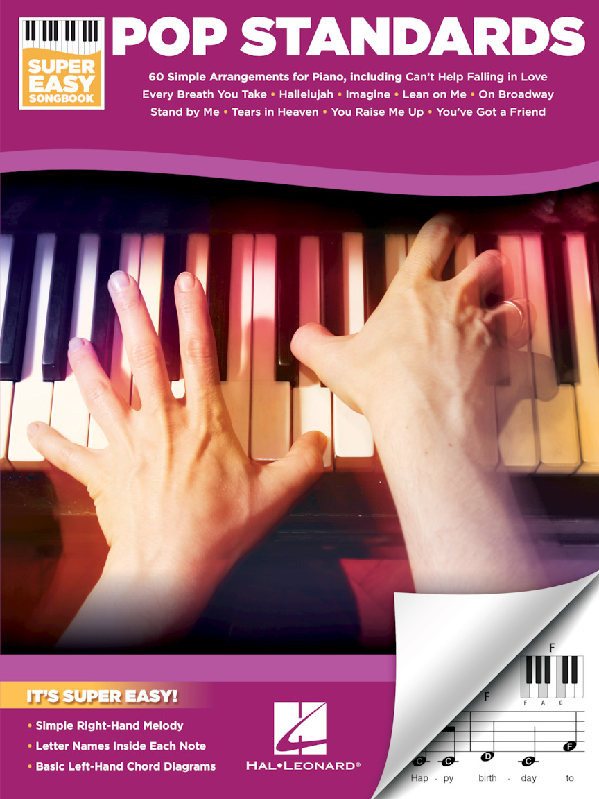 Product Cover for Pop Standards – Super Easy Songbook