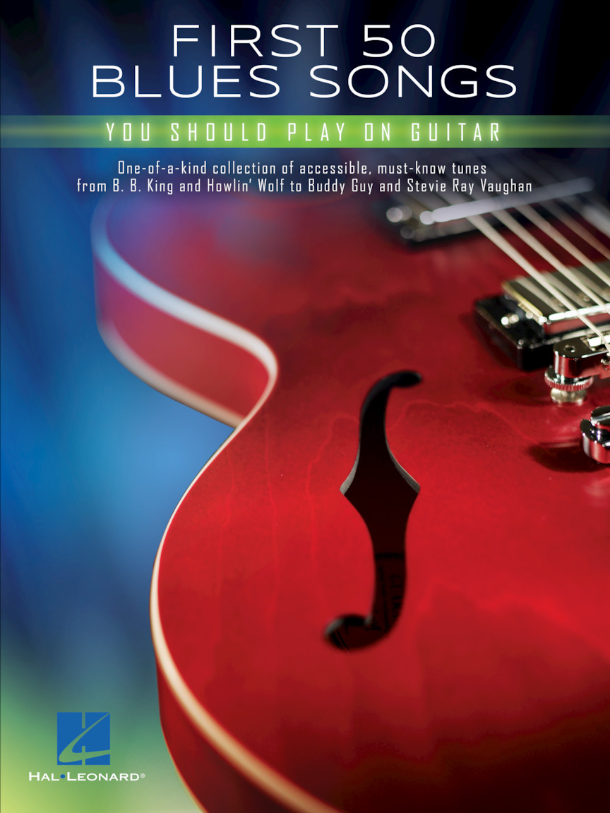Product Cover for First 50 Blues Songs You Should Play on Guitar