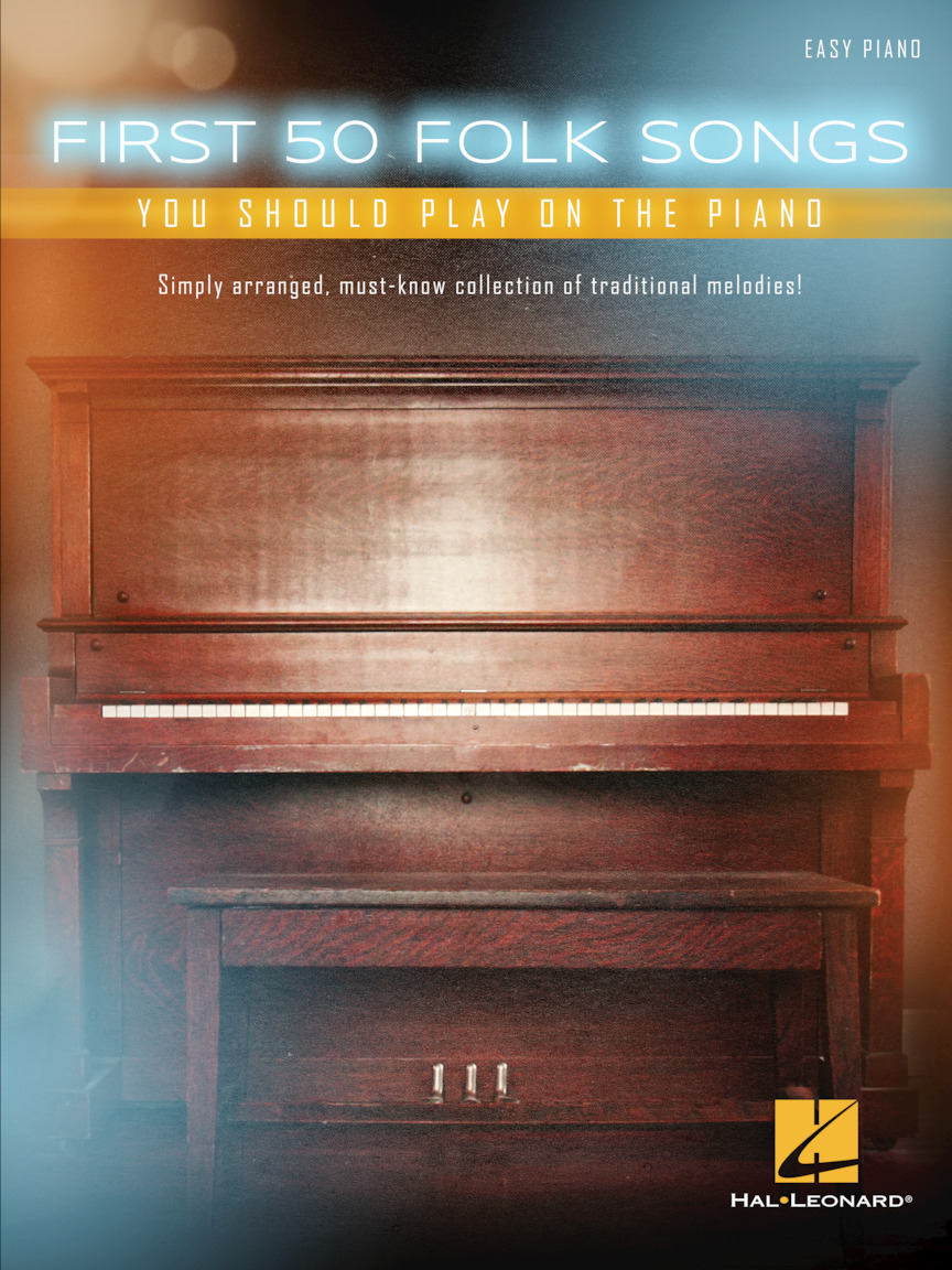 Product Cover for First 50 Folk Songs You Should Play on the Piano
