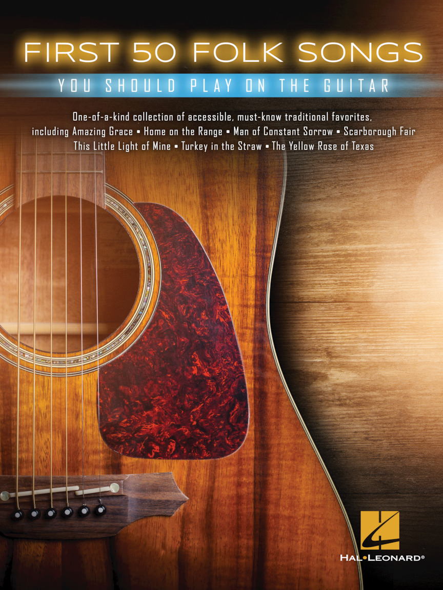 Product Cover for First 50 Folk Songs You Should Play on Guitar