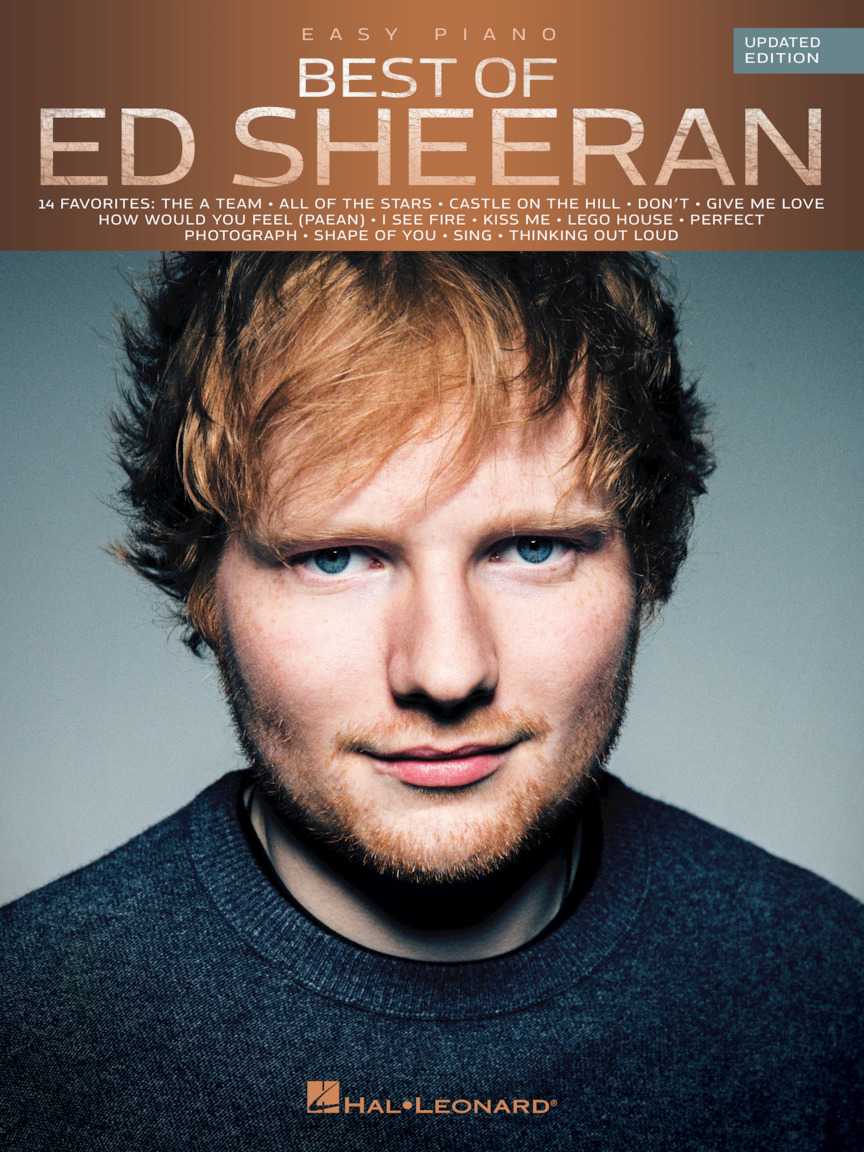 Product Cover for Best of Ed Sheeran for Easy Piano