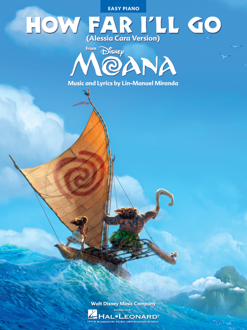 Product Cover for How Far I'll Go (from Moana)