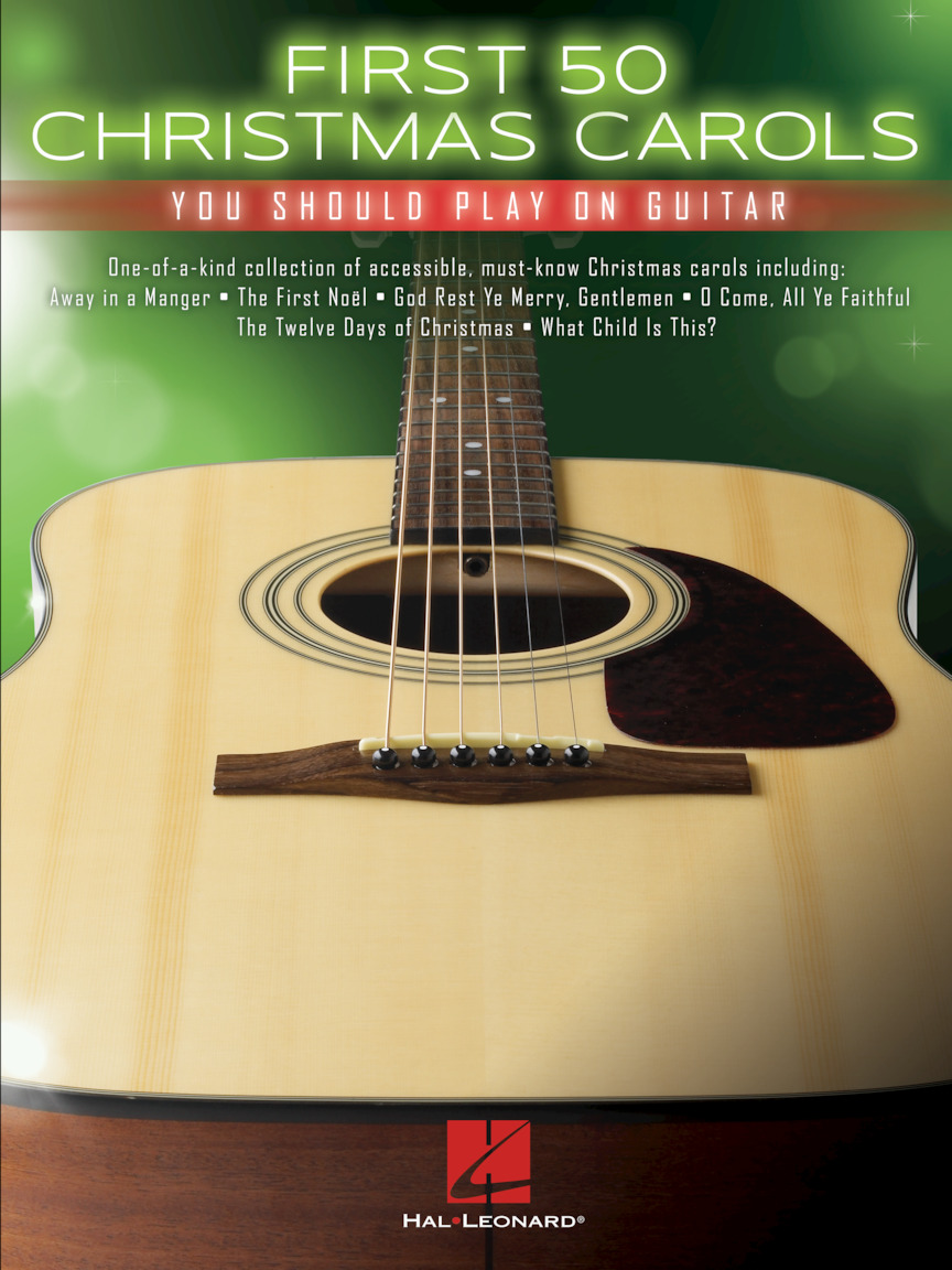 Product Cover for First 50 Christmas Carols You Should Play on Guitar