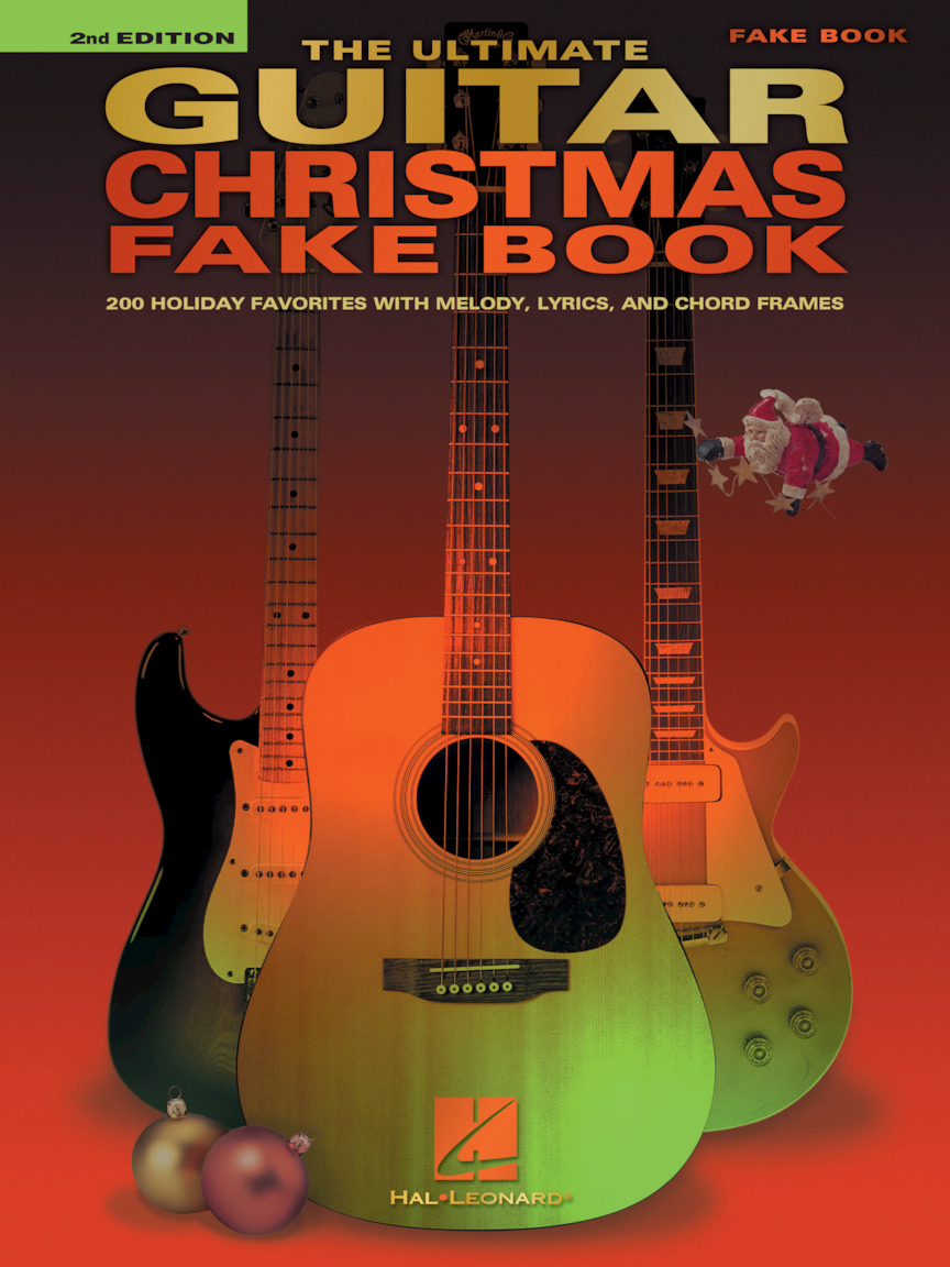 Product Cover for The Ultimate Guitar Christmas Fake Book – 2nd Edition