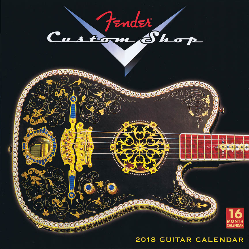 Product Cover for 2018 Fender Custom Shop Wall Calendar