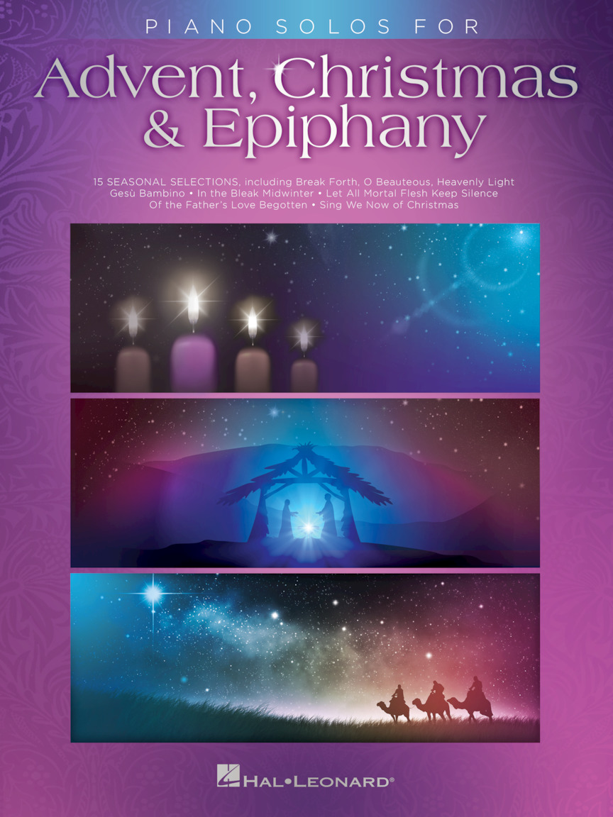 Product Cover for Piano Solos for Advent, Christmas & Epiphany