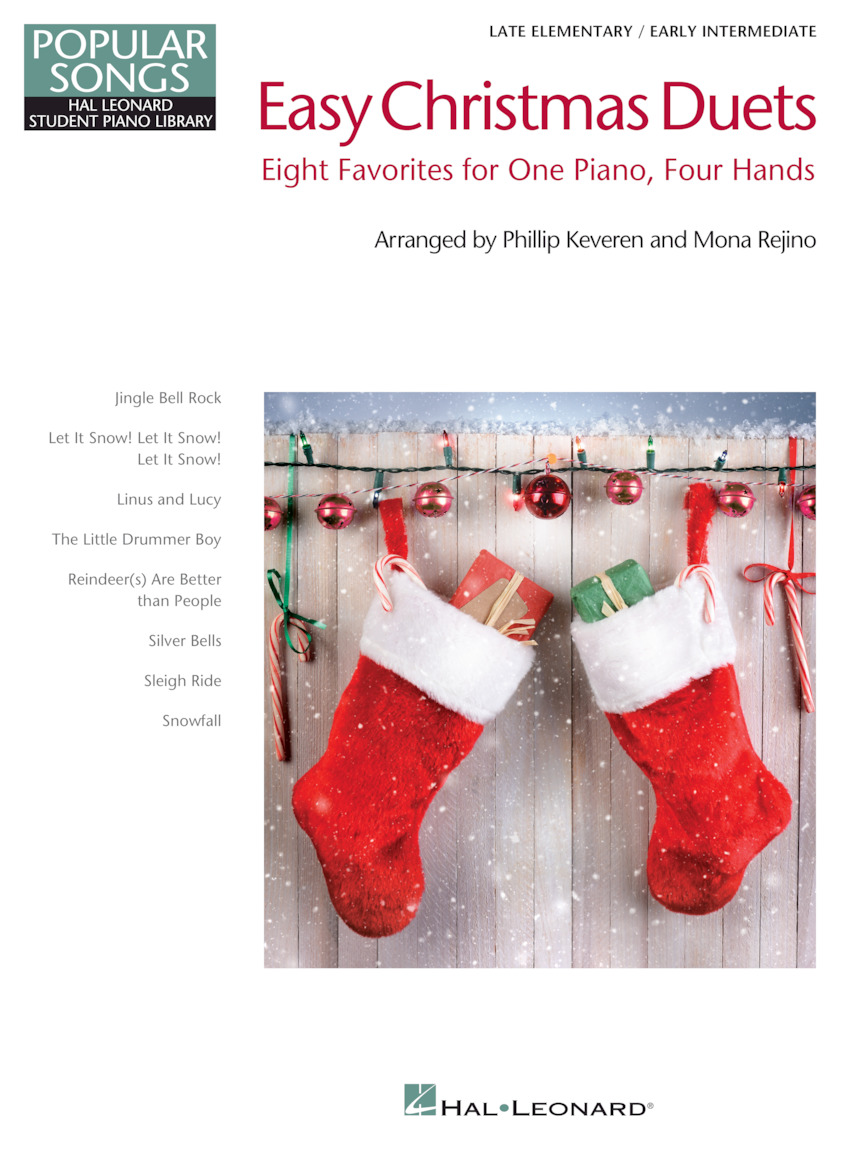 Product Cover for Easy Christmas Duets