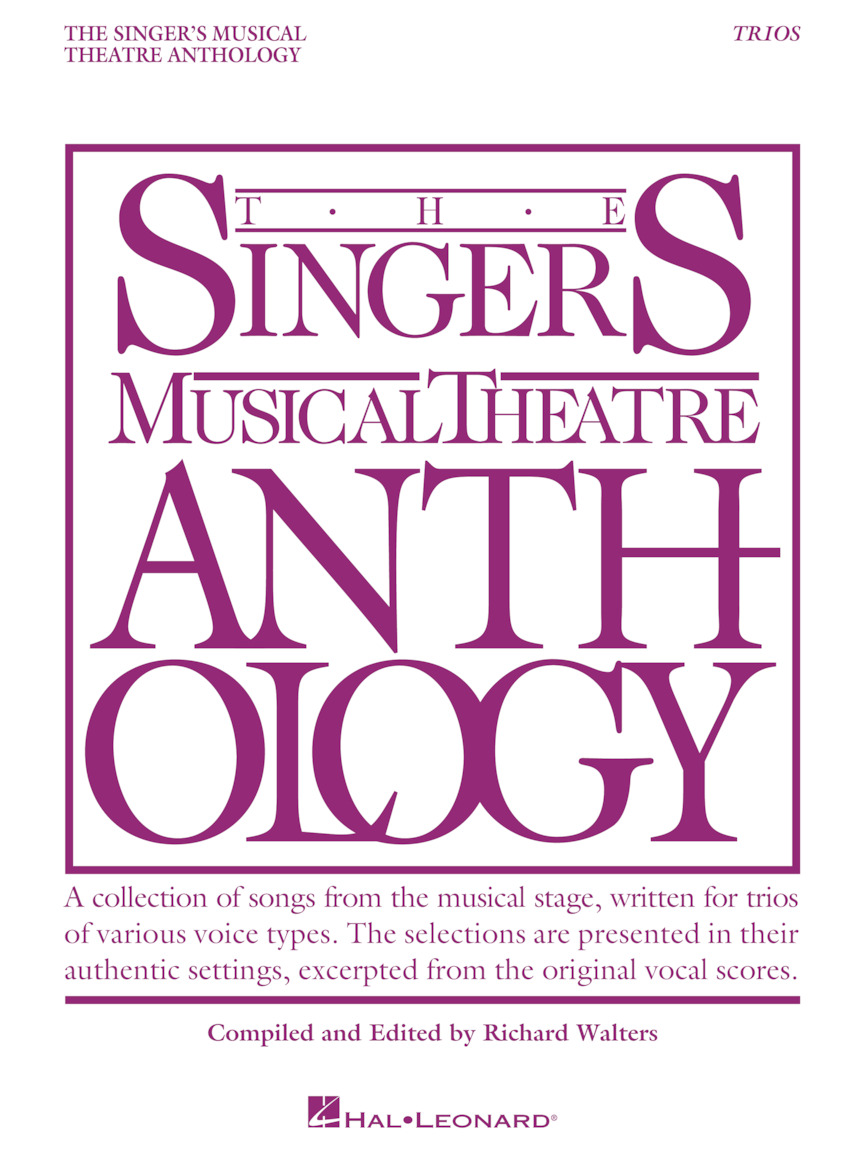 Product Cover for Singer's Musical Theatre Anthology Trios
