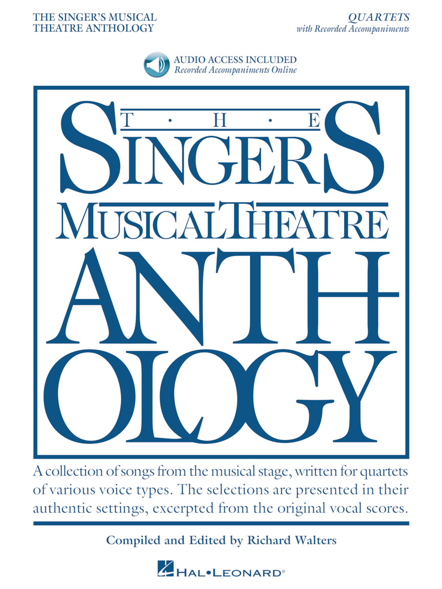 Product Cover for Singer's Musical Theatre Anthology – Quartets