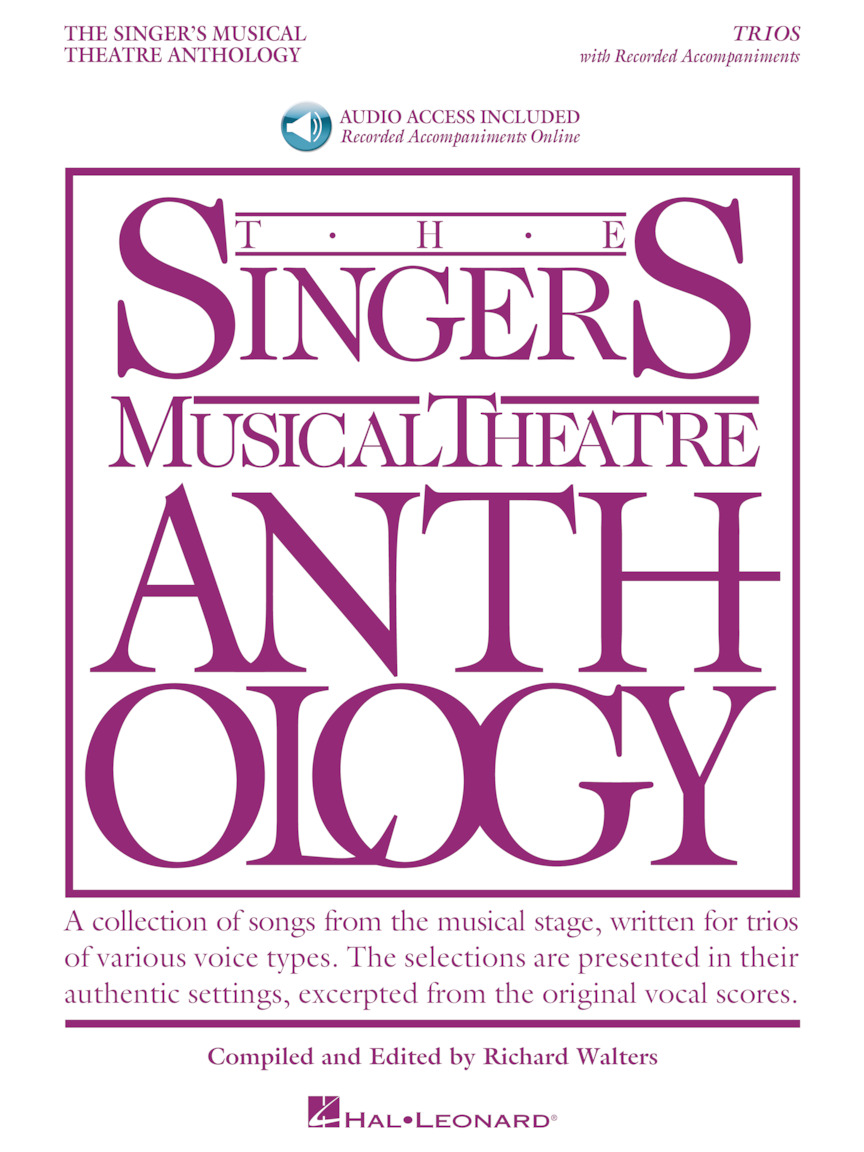 Product Cover for The Singer's Musical Theatre Anthology: Trios – Book/Online Audio
