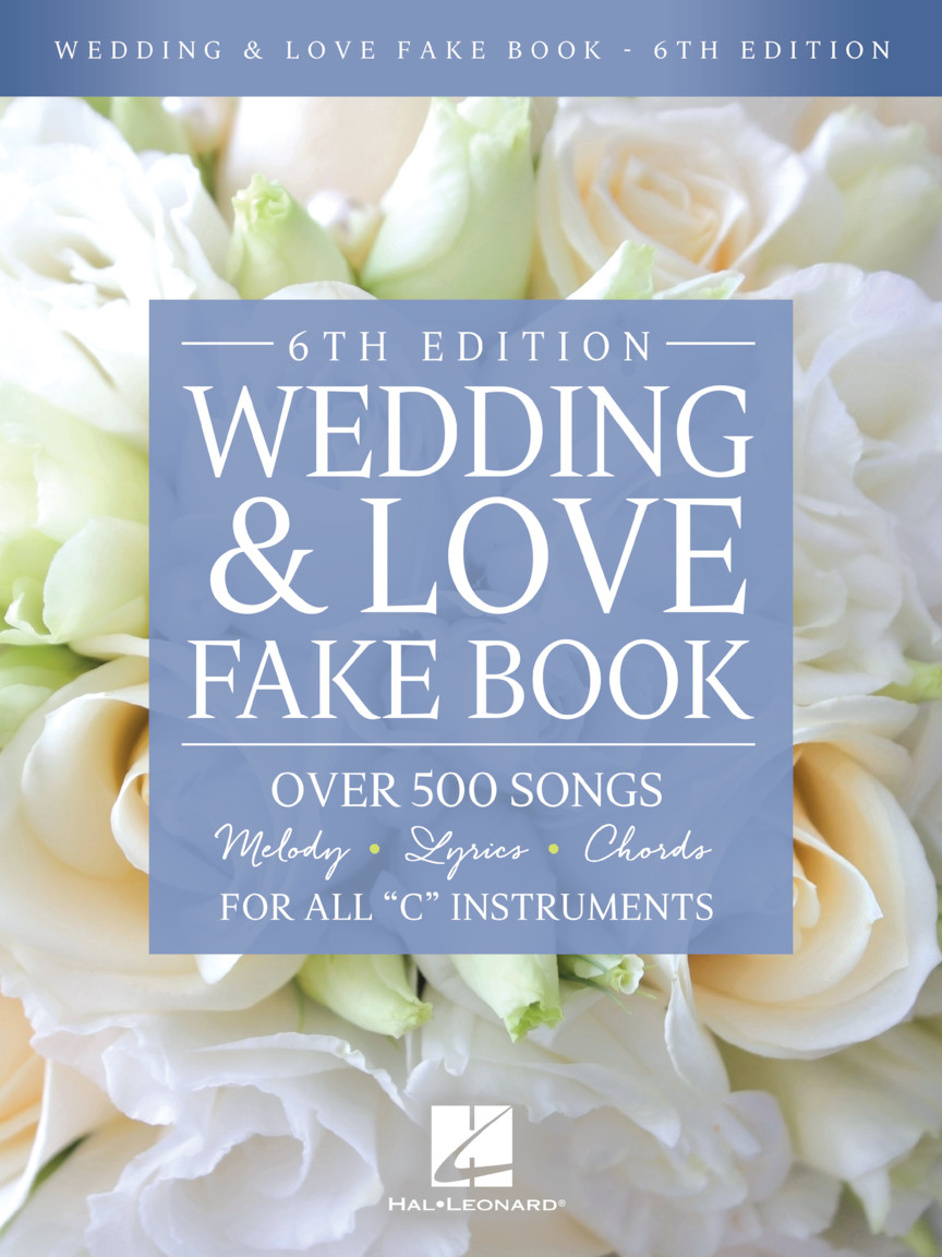 Product Cover for Wedding & Love Fake Book – 6th Edition