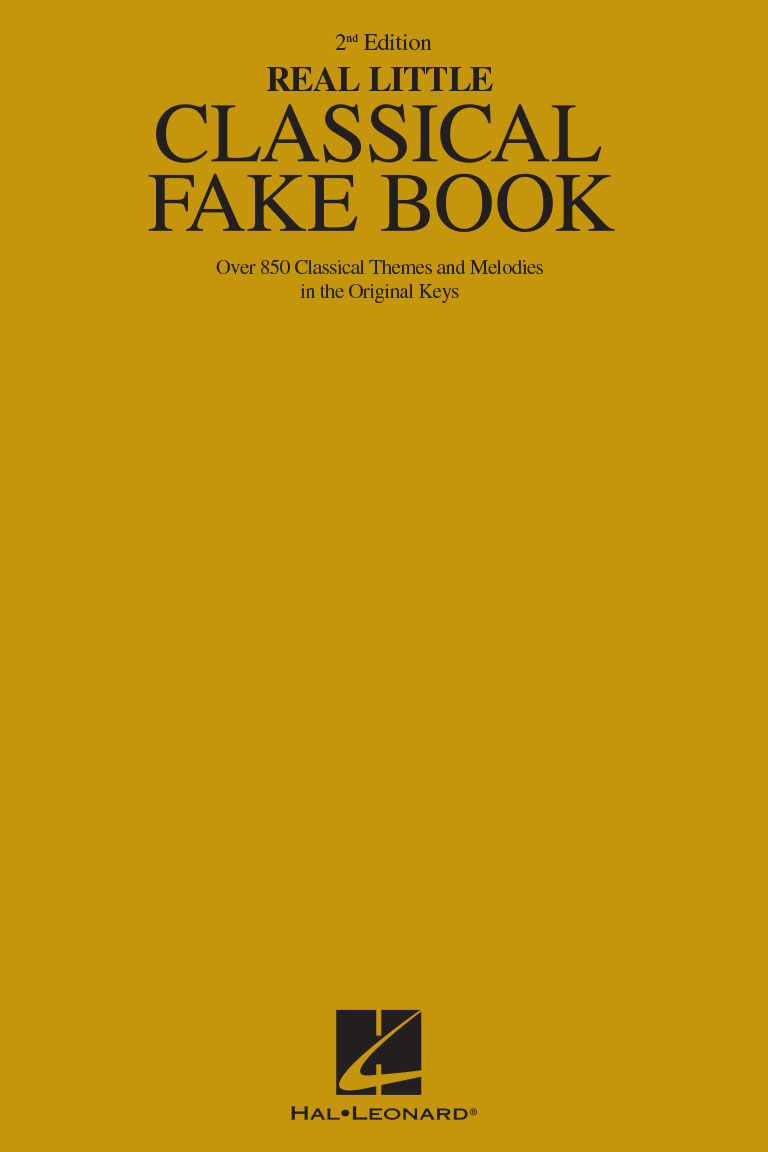 Product Cover for The Real Little Classical Fake Book – 2nd Edition