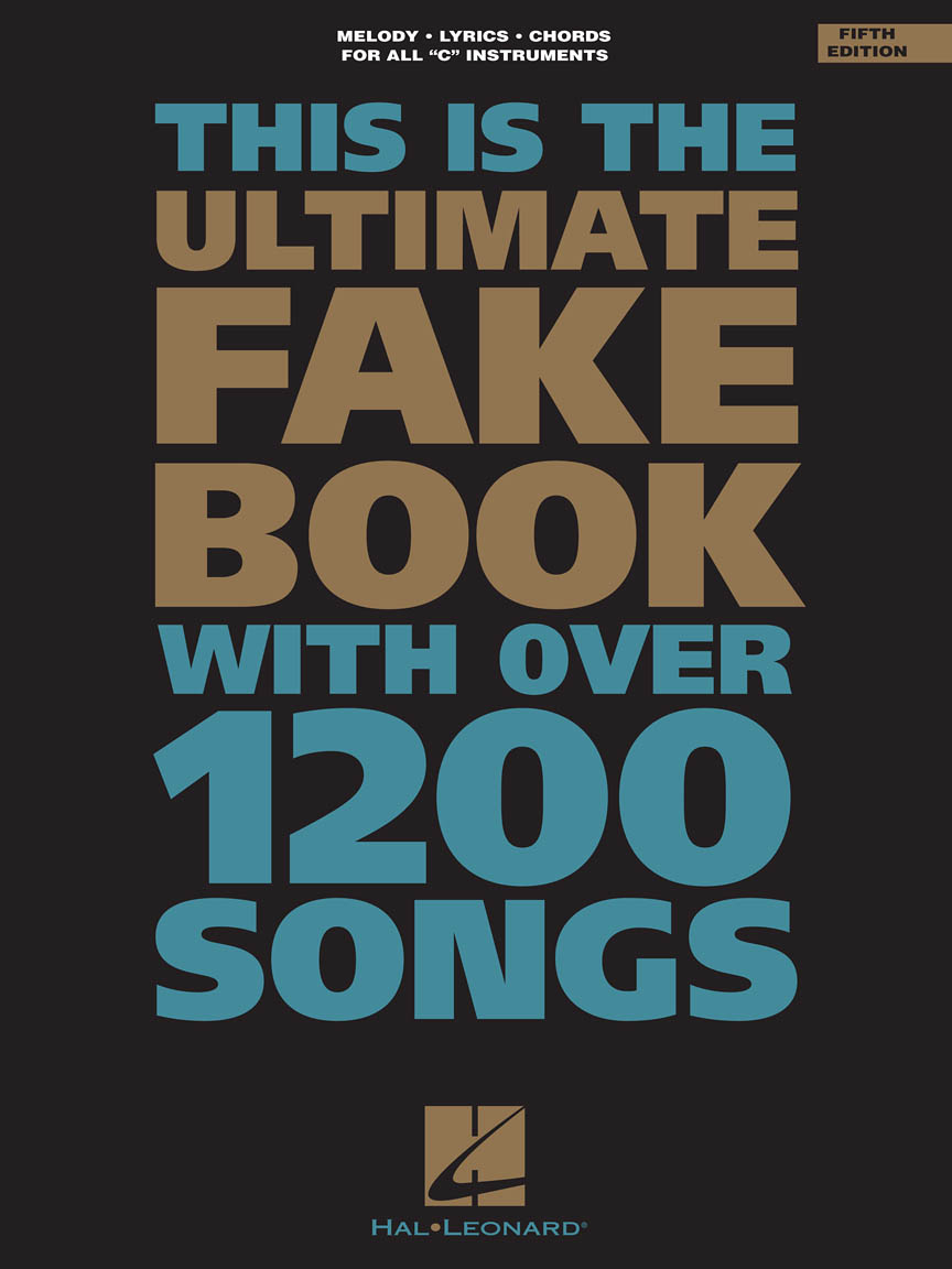 Product Cover for The Ultimate Fake Book – 5th Edition