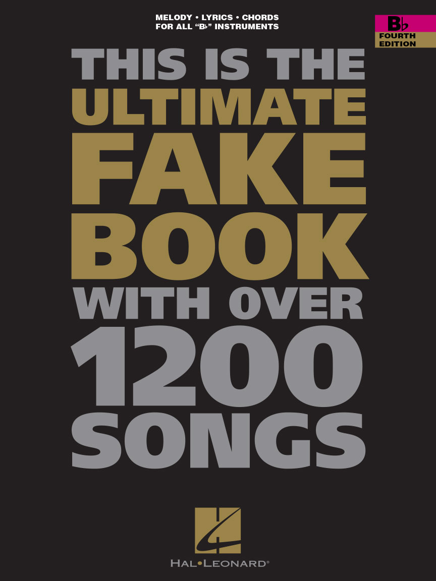 Product Cover for The Ultimate Fake Book – Fourth Edition