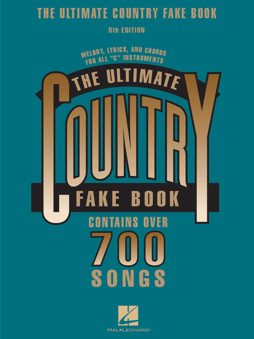 Product Cover for The Ultimate Country Fake Book – 5th Edition