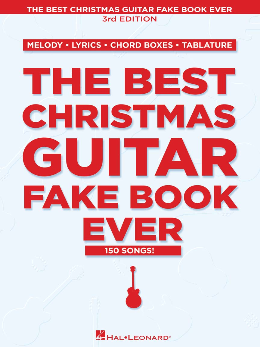 Product Cover for The Best Christmas Guitar Fake Book Ever – 3rd Edition