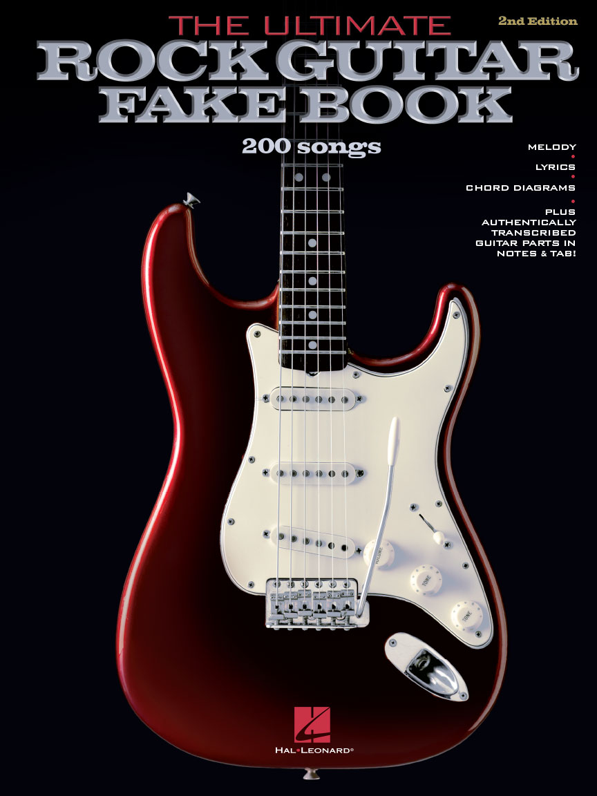 Product Cover for The Ultimate Rock Guitar Fake Book – 2nd Edition