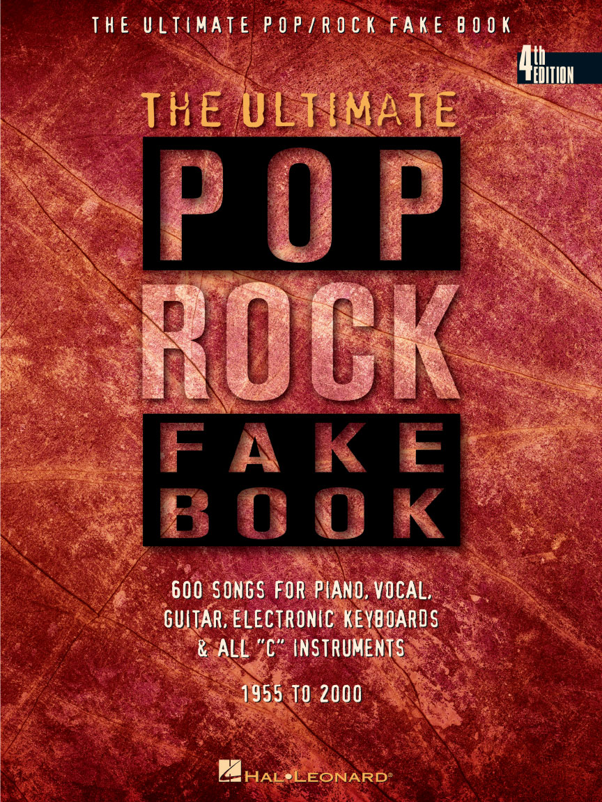 Product Cover for The Ultimate Pop/Rock Fake Book – 4th Edition