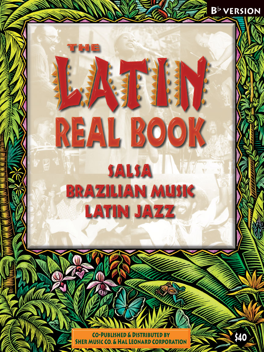 Product Cover for The Latin Real Book – B-flat Edition