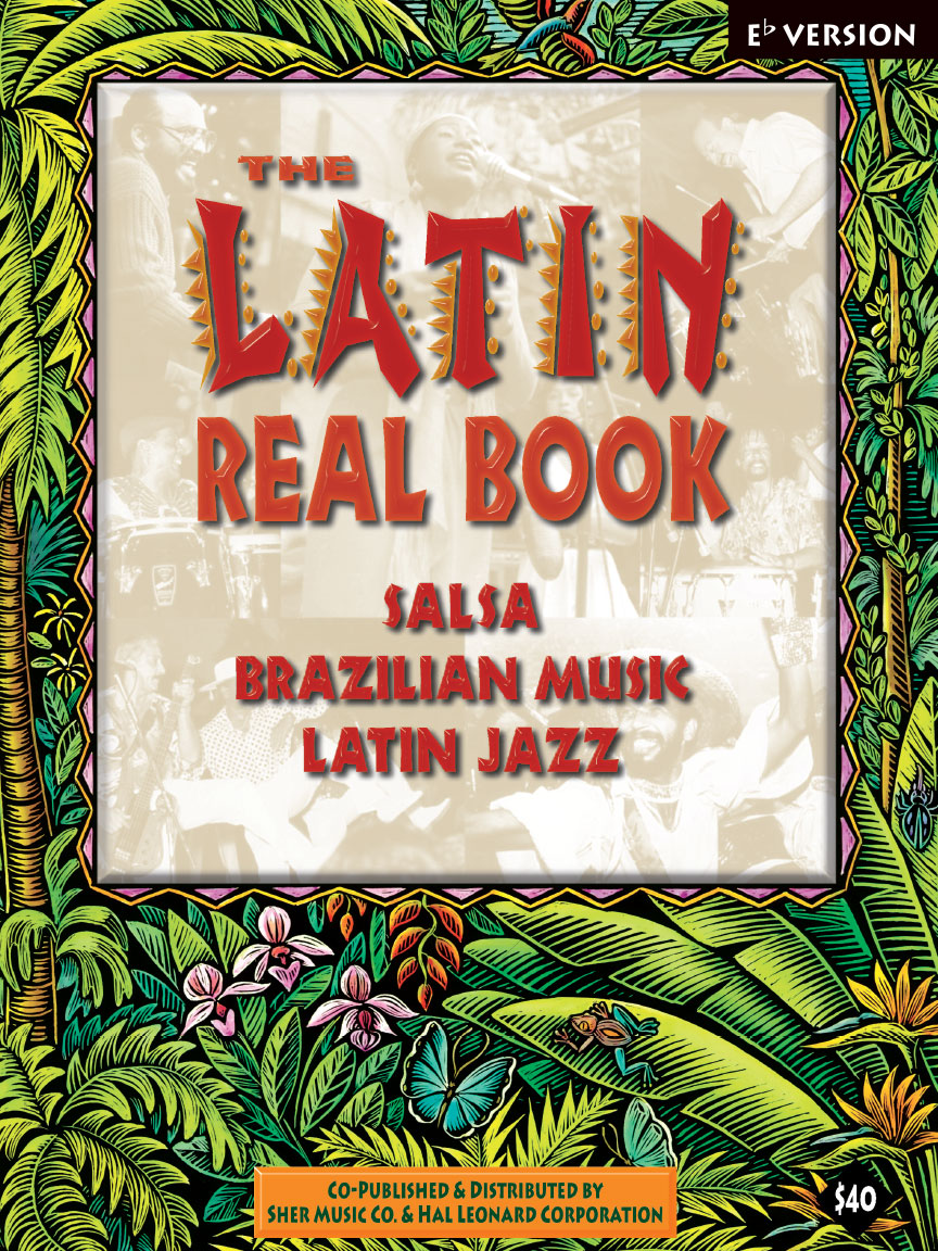 Product Cover for The Latin Real Book – E-flat Edition