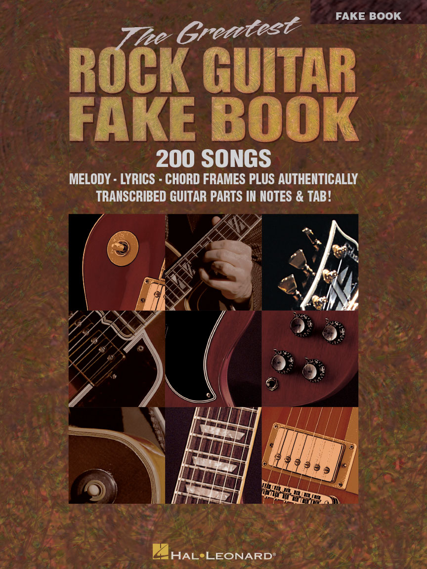 Product Cover for The Greatest Rock Guitar Fake Book