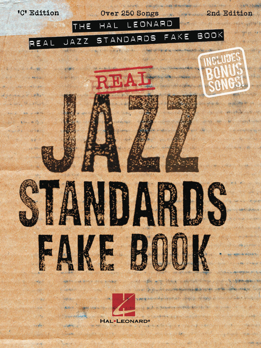Product Cover for The Hal Leonard Real Jazz Standards Fake Book – 2nd Edition