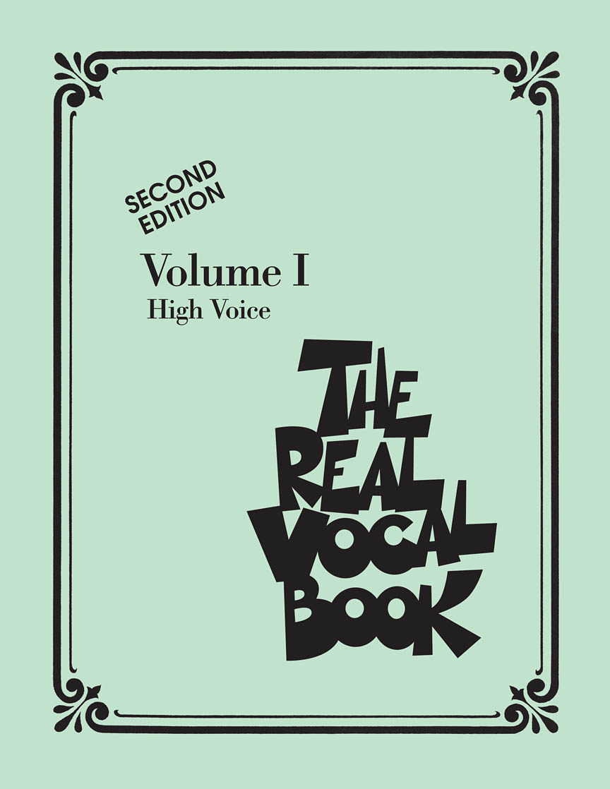 Product Cover for The Real Vocal Book – Volume I – Second Edition