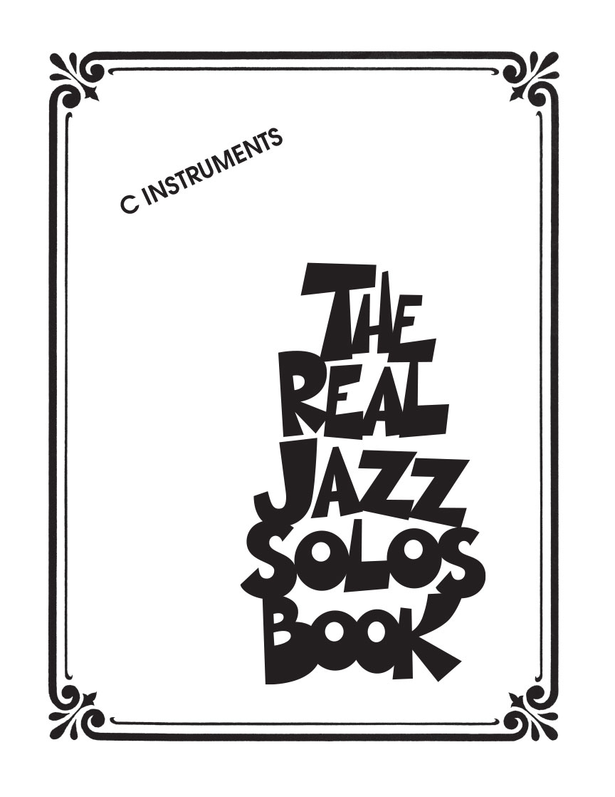 Product Cover for The Real Jazz Solos Book