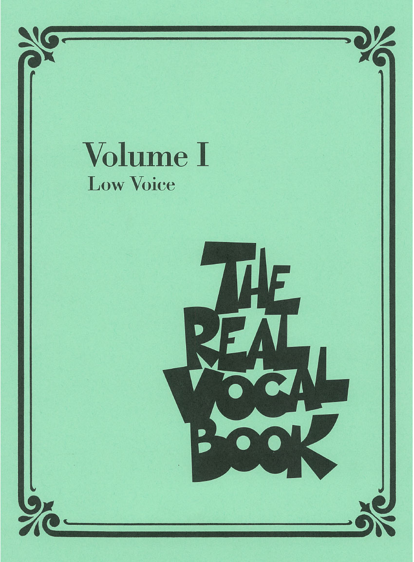 Product Cover for The Real Vocal Book – Volume I