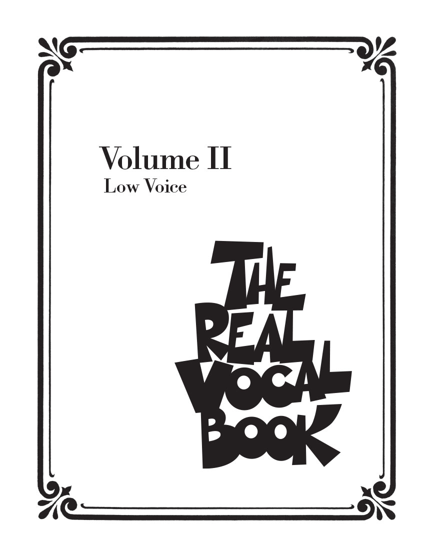 Product Cover for The Real Vocal Book – Volume II