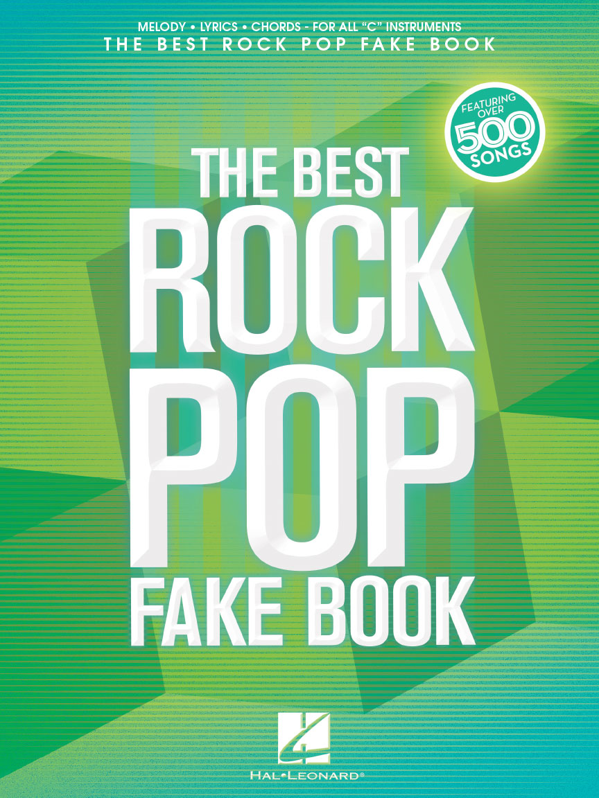 Product Cover for The Best Rock Pop Fake Book