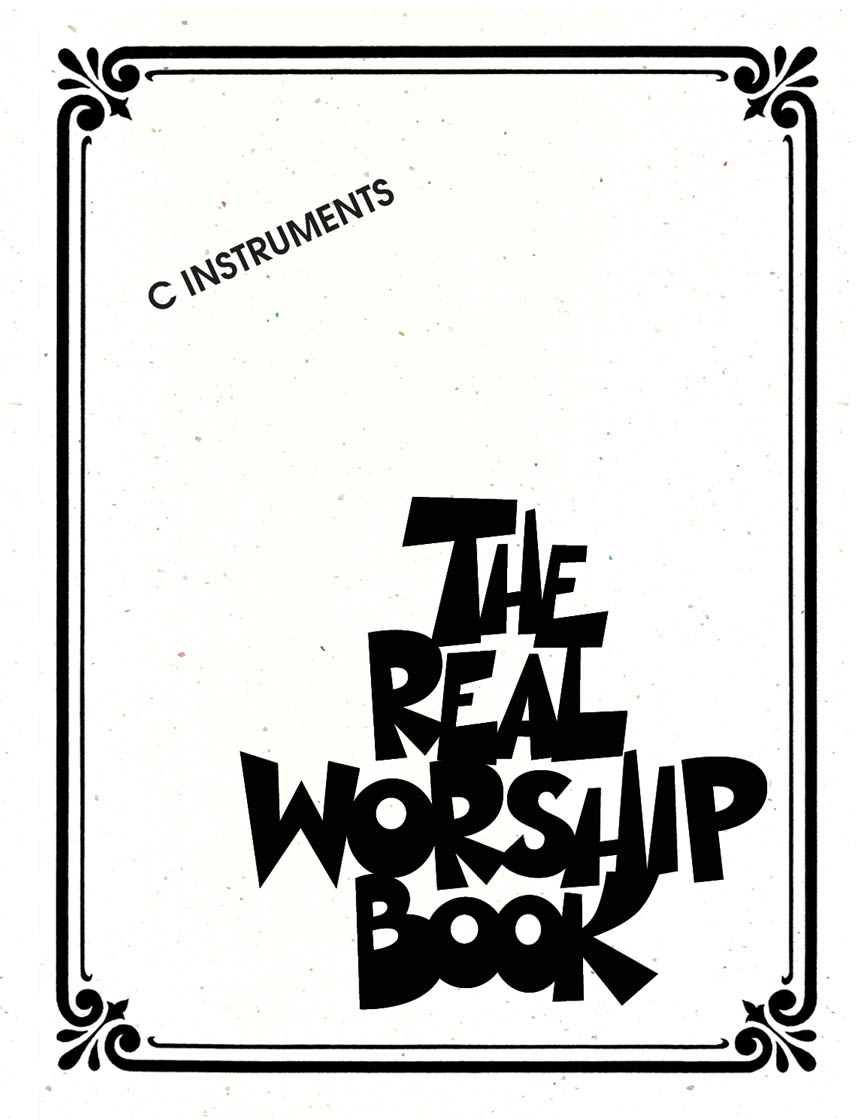 Product Cover for The Real Worship Book