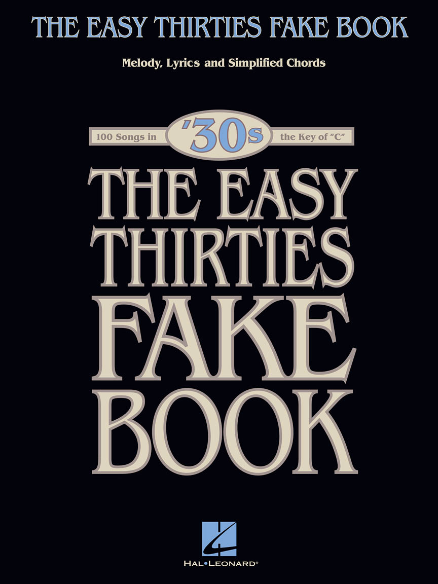 Product Cover for The Easy 1930s Fake Book