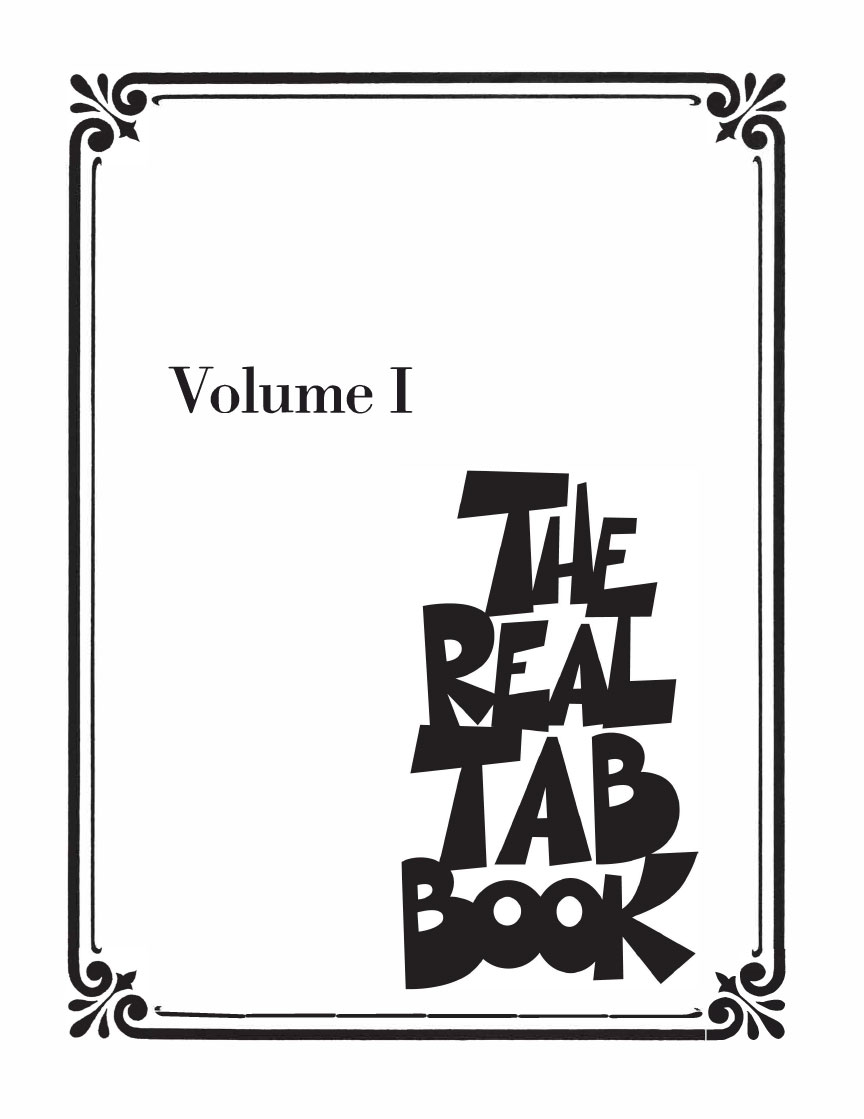 Product Cover for The Real Tab Book – Volume I