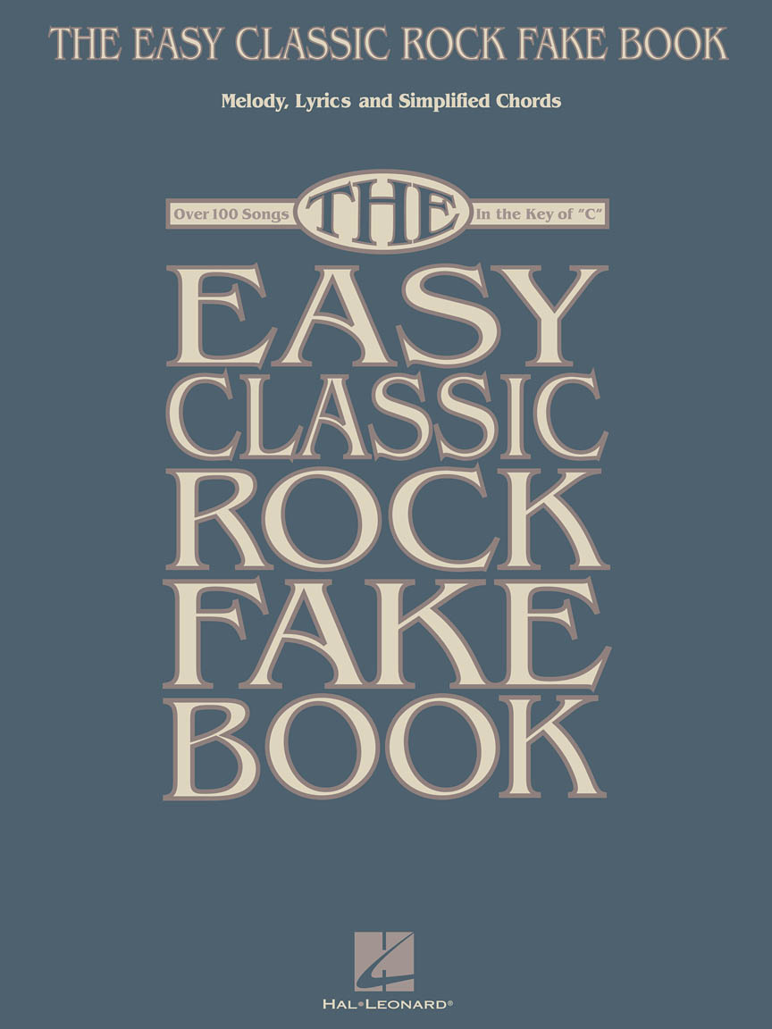 Product Cover for The Easy Classic Rock Fake Book