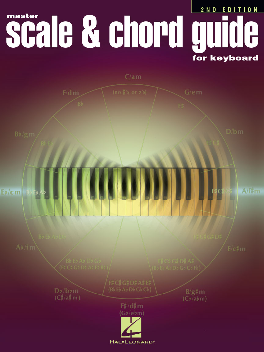 Product Cover for Master Scale & Chord Guide for Keyboard – 2nd Edition