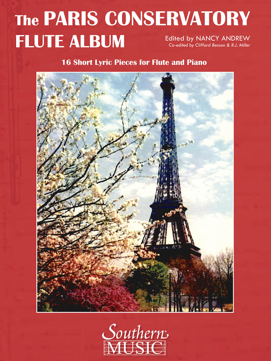 Product Cover for Paris Conservatory Flute Album: 16 Short Lyric Pieces for Flute and Piano