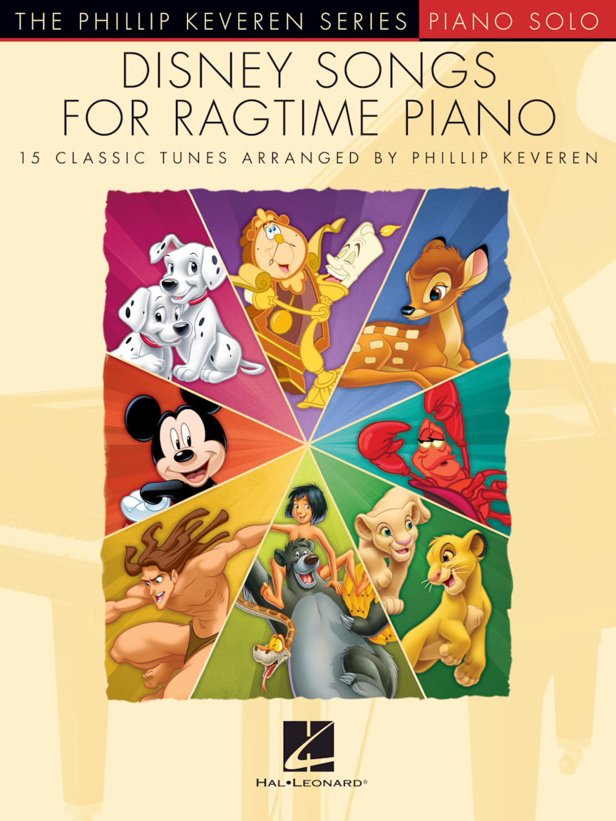 Product Cover for Disney Songs for Ragtime Piano