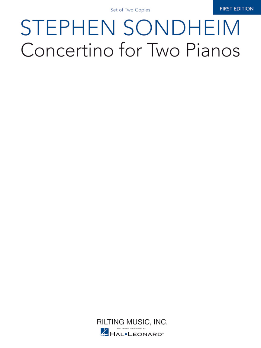 Product Cover for Concertino for Two Pianos