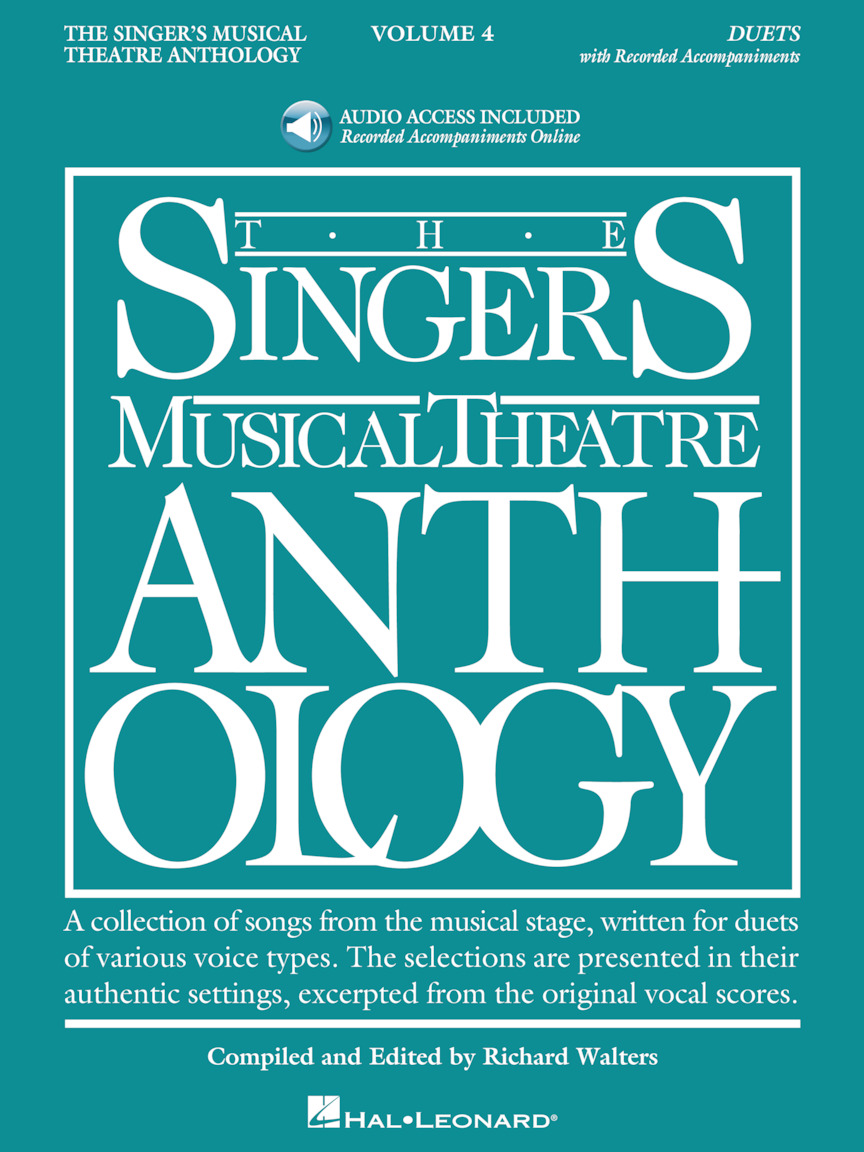 Product Cover for The Singer's Musical Theatre Anthology: Duets, Volume 4 - Book/Online Audio