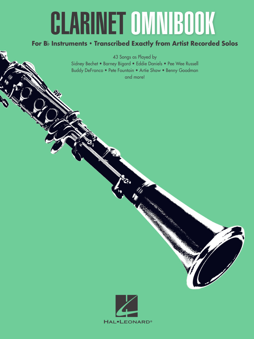 Product Cover for Clarinet Omnibook for B-flat Instruments