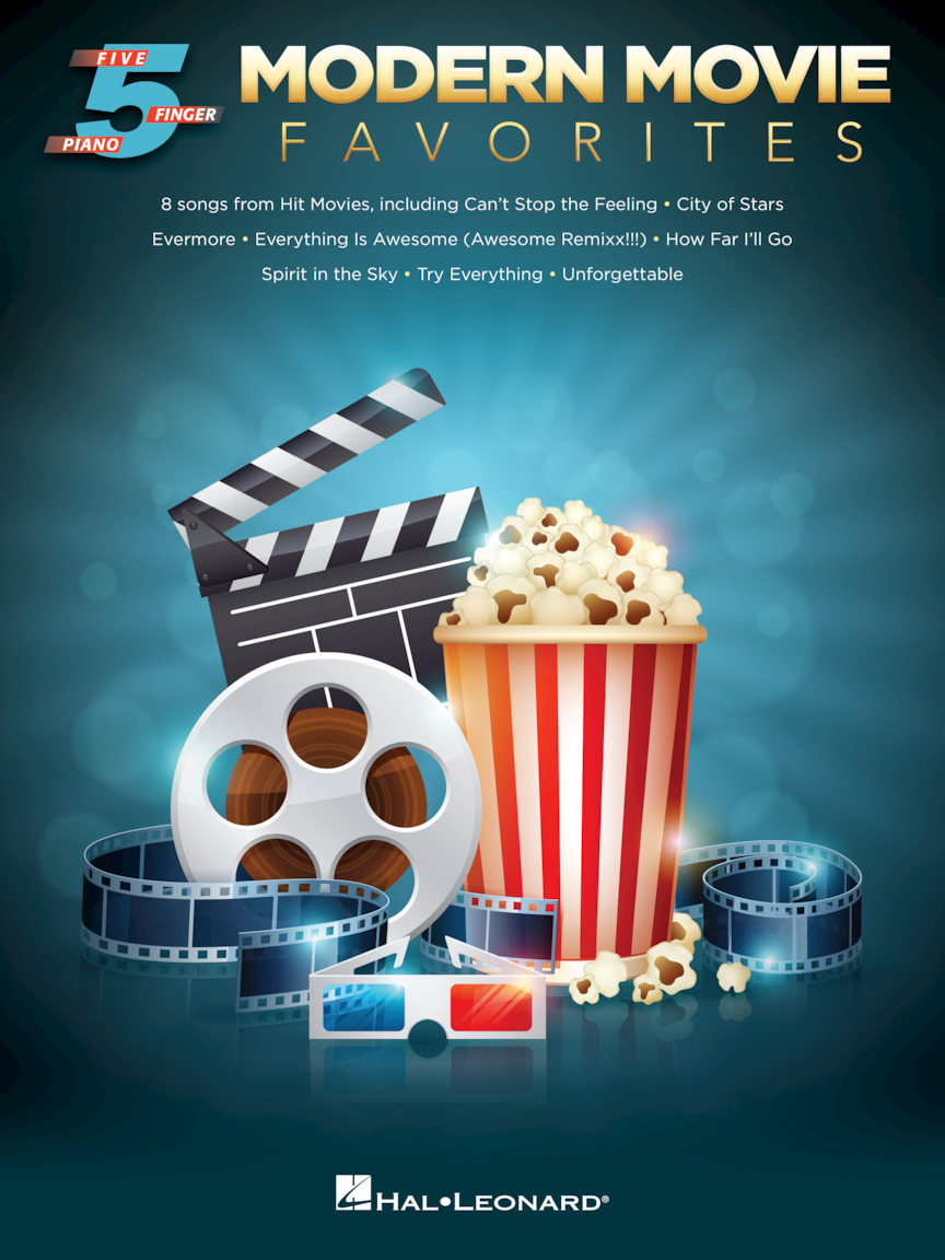 Product Cover for Modern Movie Favorites for Five-Finger Piano
