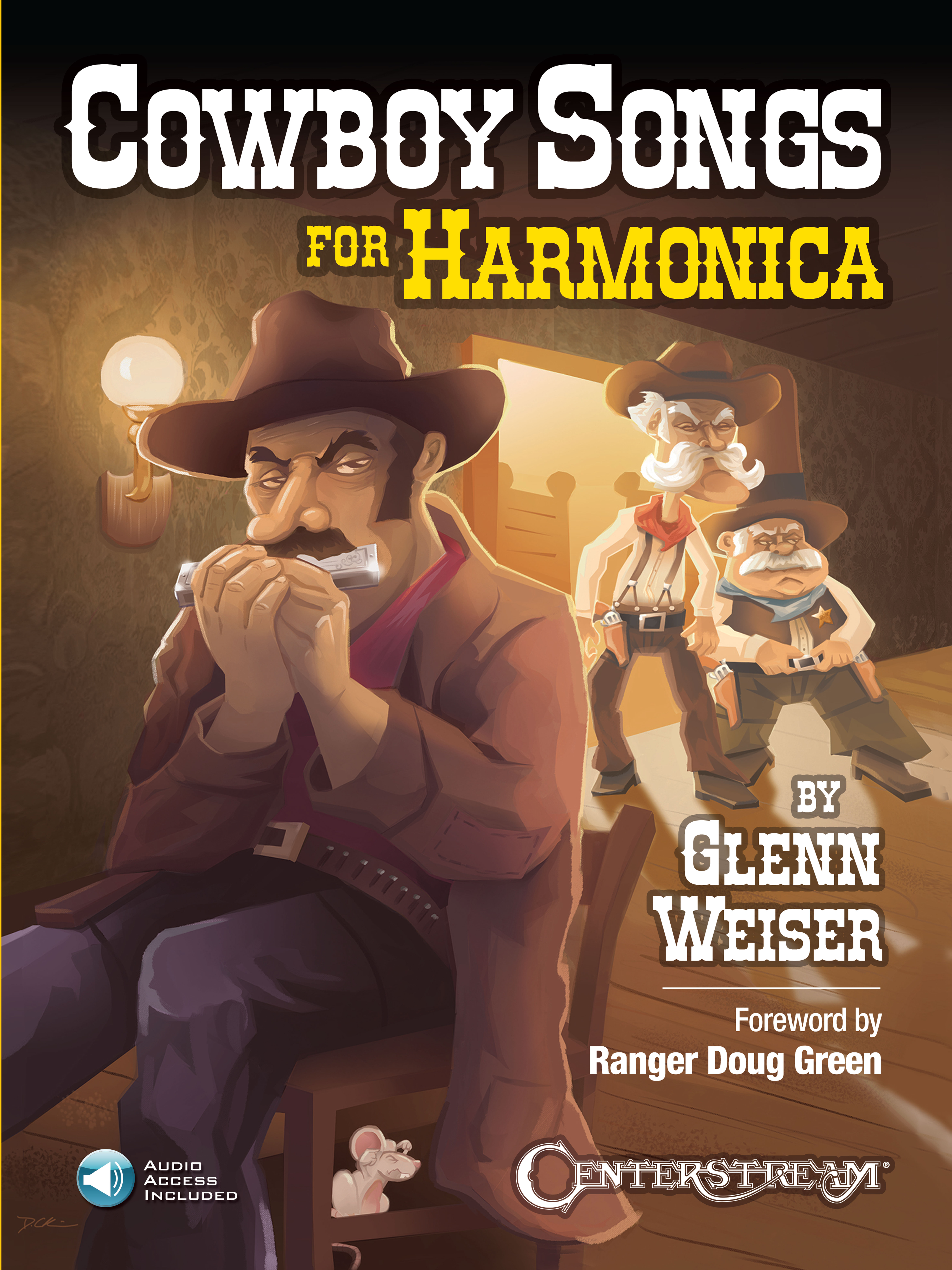Product Cover for Cowboy Songs for Harmonica