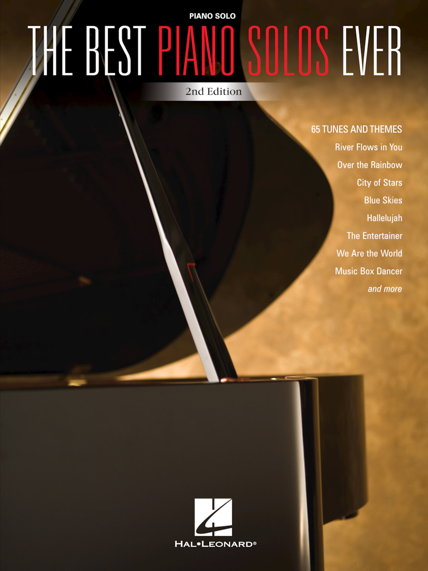Product Cover for The Best Piano Solos Ever – 2nd Edition