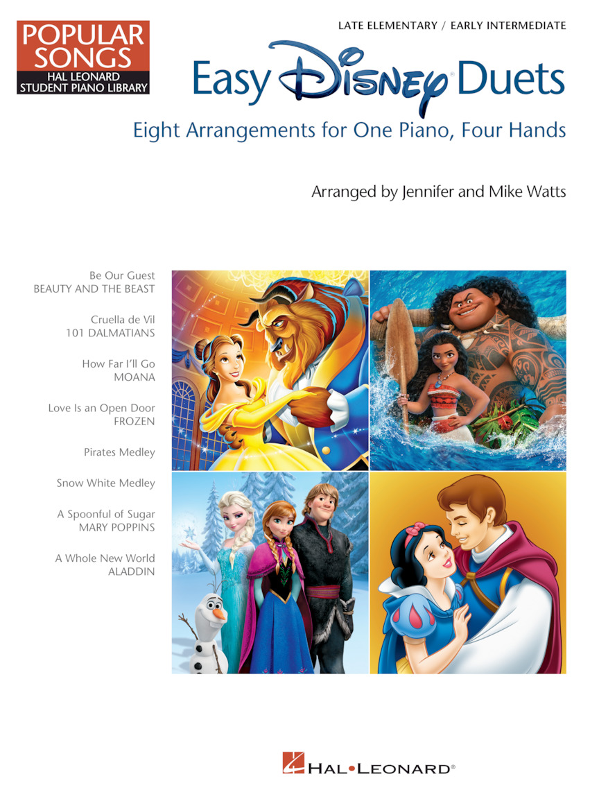 Easy Disney Duets – Popular Songs Series